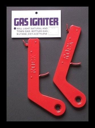 THE ROCK - FLINT GAS LIGHTER